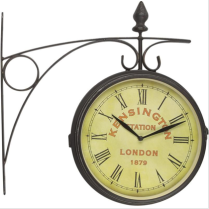 Wanduhr Old London Station