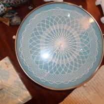 Vintage Tortenplatte
